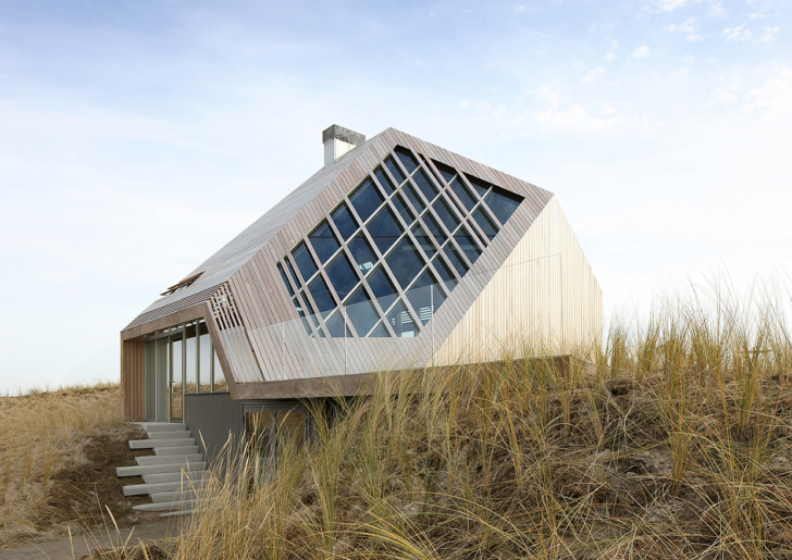 Dune House in Terschelling by Marc Koehler Architects