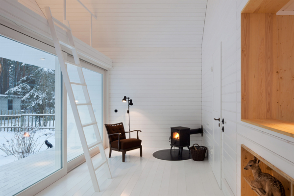 Forest House Waldhaus by Atelier ST