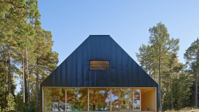 Summerhouse Husarö by Tham & Videgård Arkitekter