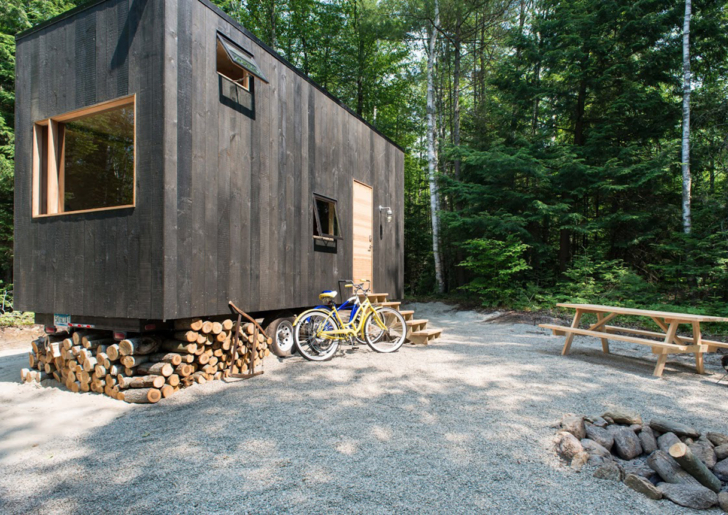 Mobile Tiny House ideas / Getaway by Millennial Housing Lab