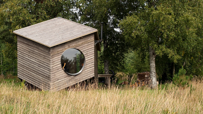Tiny House ideas / NOA Cabin by Jaanus Orgusaar