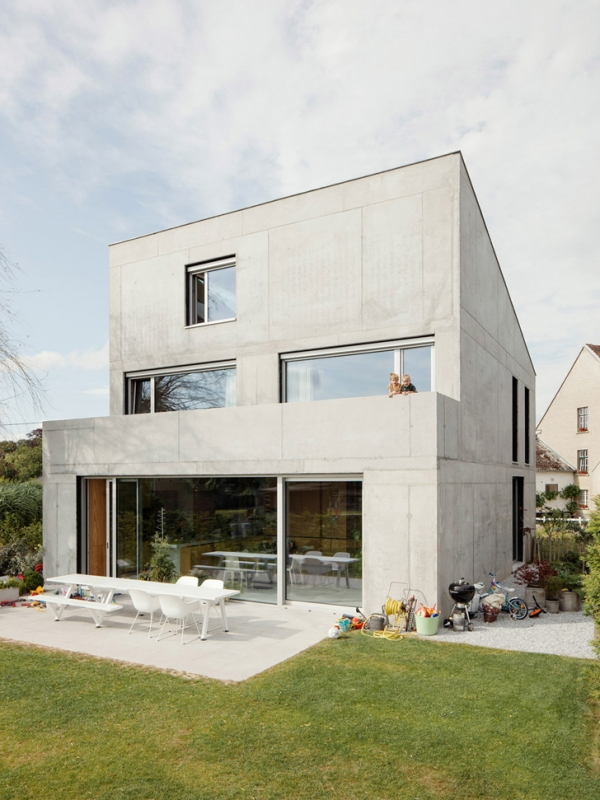 Concrete House ideas / TDH by i.s.m.architecten | ideasgn