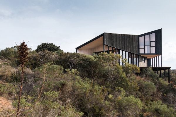 Slope House ideas Capilla Chile by whalearchitecture 3