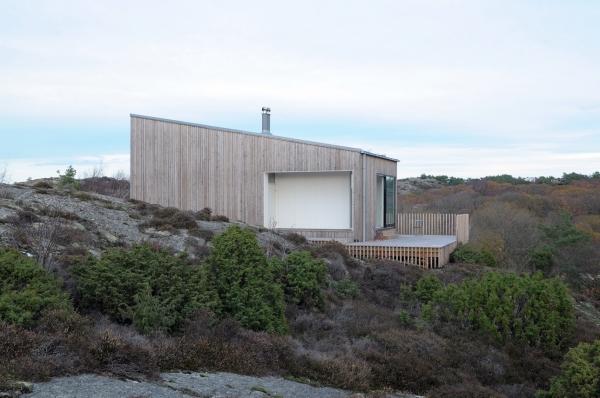 Wood Cottage ideas Weekend House by Mattias Gunneflo 2