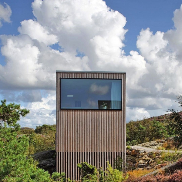 Wood Cottage ideas Weekend House by Mattias Gunneflo 3