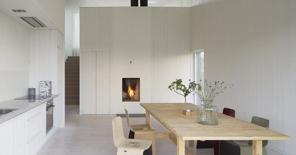 Wood Cottage ideas Weekend House by Mattias Gunneflo 5