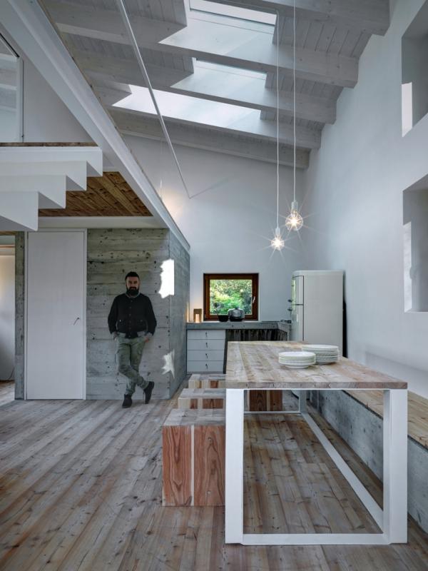 Concrete House ideas CASA VI by EV+A Lab 5