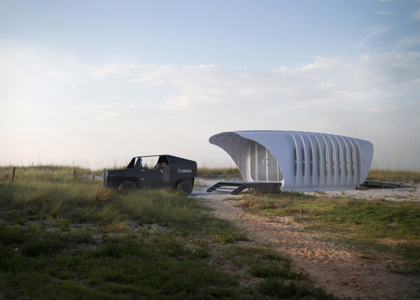 3D-Printed House ideas AMIE by SOM 3