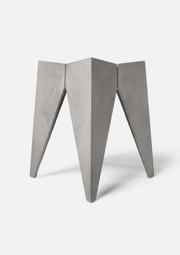 Concrete Stool by Henri Lavallard Boget for Lyon Beton 3