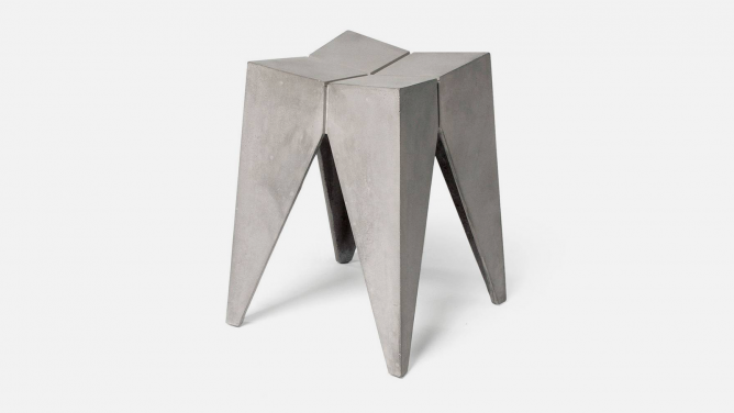 Concrete Furniture ideas / Bridge Stool