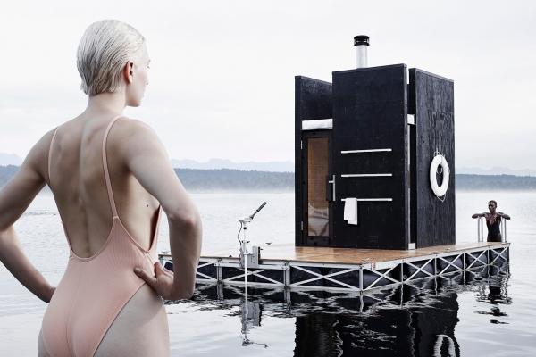 Floating Sauna by goCstudio 2