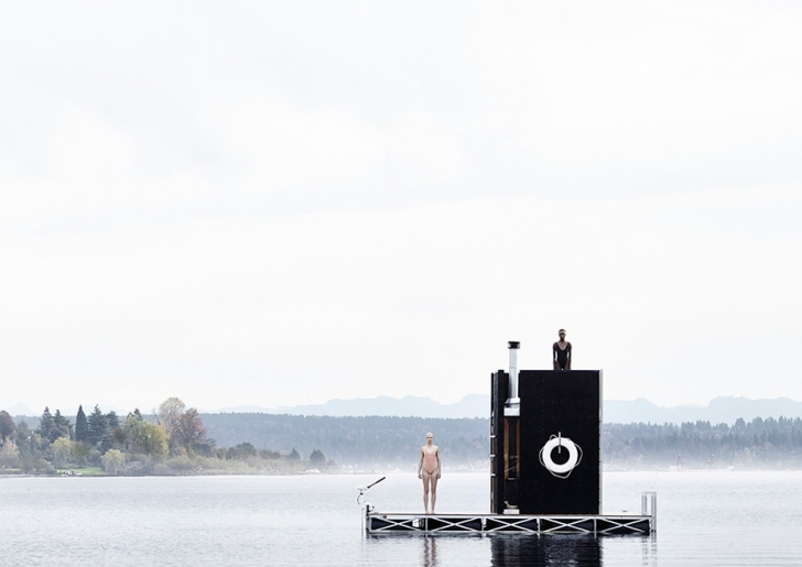 Floating Sauna ideas / wa_sauna by goCstudio