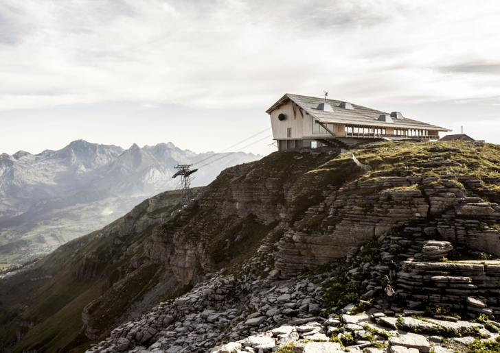 Mountain Restaurant by Herzog & de Meuron