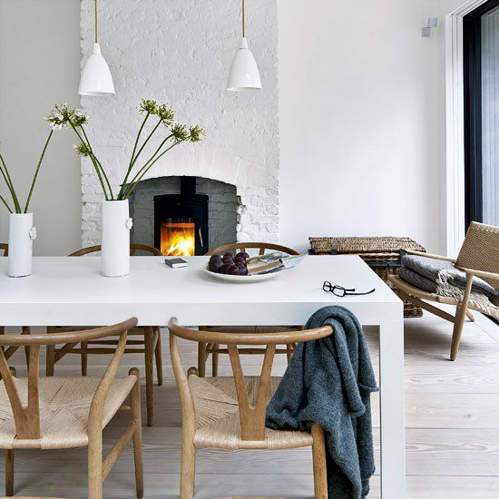 Terrace House ideas Victorian terrace in east London Dining-room