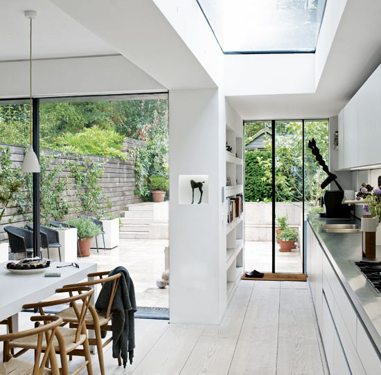 Terrace House ideas Victorian terrace in east London Kitchen-diner
