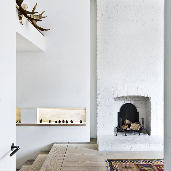 Terrace House ideas Victorian terrace in east London fireplace