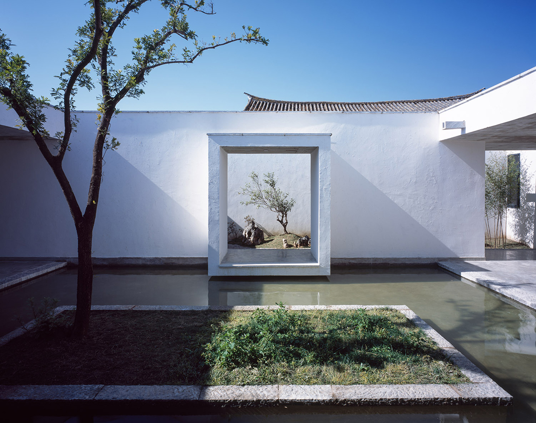 Courtyard house in dali by zhaoyang architects ideasgn for Courtyard architecture design