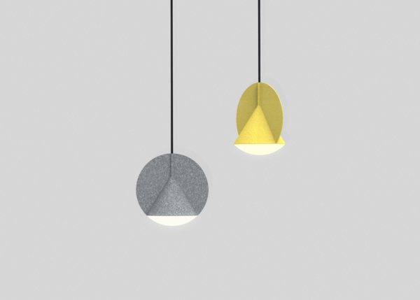 Stamp Pendant Lamp by Outofstock 3