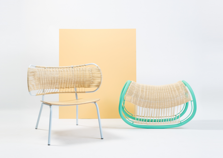 Rattan ideas / Weaved Seats by Efi Ganor