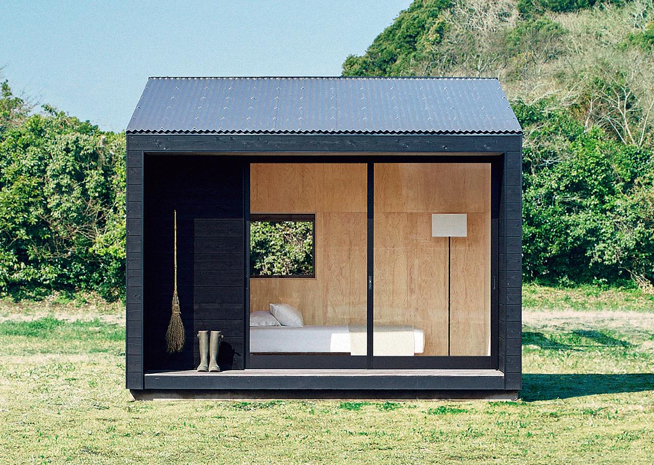 Tiny Prefab House Ideas / MUJI Hut