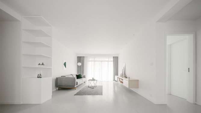 Apartment Renovation ideas / Y Home by Office ZHU